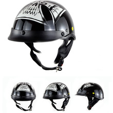 New type Vintage Chopper Classic Open Face Bike Motorcycle Helmet With DOT And ECE Certification