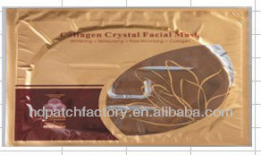 Eye mask gold collagen crystal facial mask for eye care
