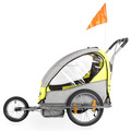 China Baby bike doll stroller with EN15918:2011&EN1888&ISO9000 bicycle trailer(BT001)