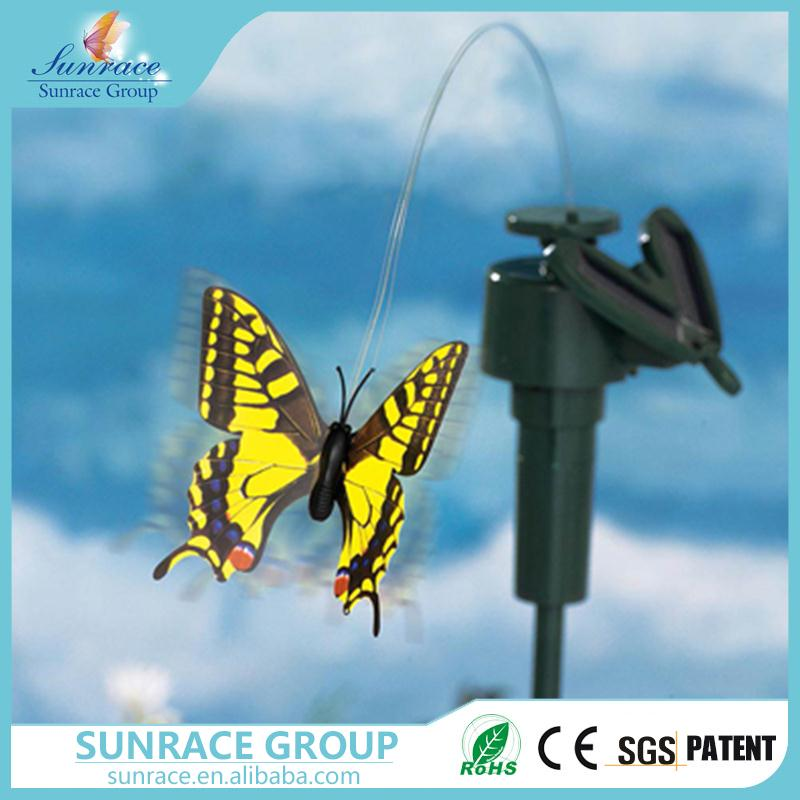 Hot selling solar powered dancing toy fluttering solar butterfly decorative solar flying toy with great price
