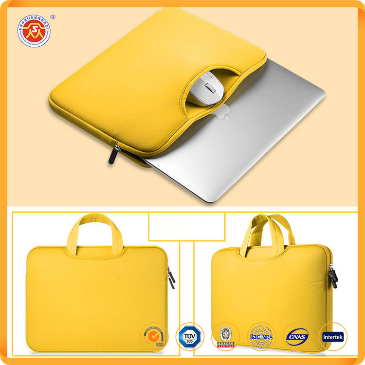Custom shoulder laptop computer bag with Carrying Padded Sleeve Case
