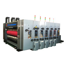 4 color flexo printing machine/corrugatedboard printing slotting die cutting equipment