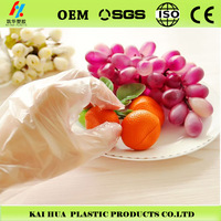 CE Disposable PE gloves healthy safety and eco-friendly