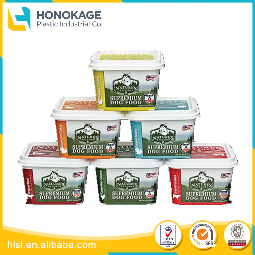 Pet Food Bucket Container Stackable Have Handle, Plastic container with handle to Store Pet Food