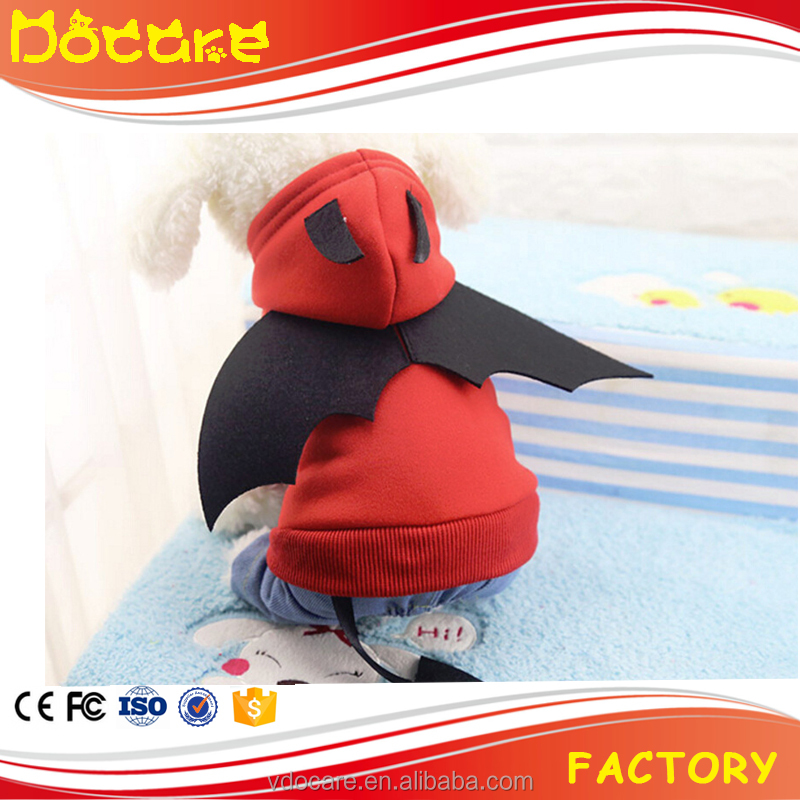 Dog Cat Cosplay Suits Little Devil Akuma Cosplay Dressed Clothes with Horn