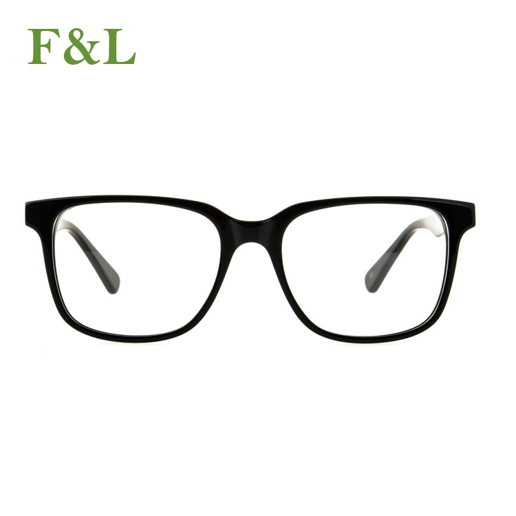 2018 China Wholesale new design stock lot black eyewear optical frames