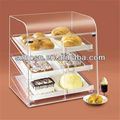 Acrylic high grade bakery case;Acrylic bakery display;Beauty Acrylic food container;