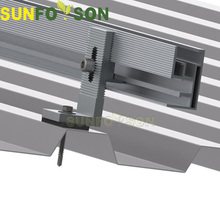 Sunforson trapezoid/ corrugated metal roof solar mounting aluminum tin roof hook
