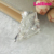 45mm Wholesale custom white enamel rhinestone ice shate shoe brooch for party