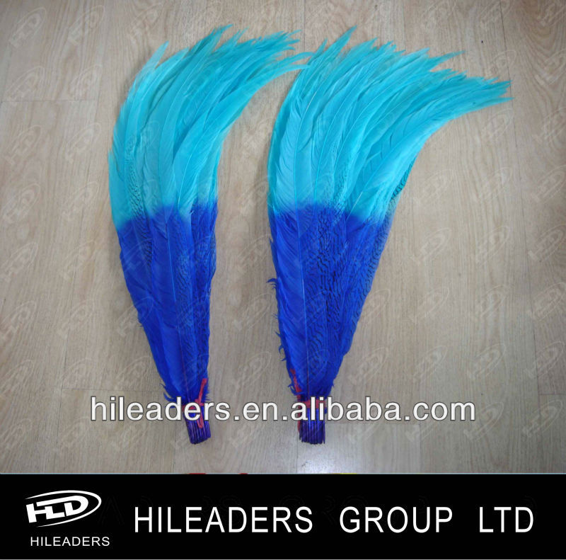 Hot Sale Decortive Dyed Color Silver Pheasant 20 Inch Feathers