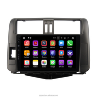"9"" Car Android 7.1 radio for Toyota Prado 150 2010 2011 2012 2013 Quad Core Multimedia 2 din car dvd player"