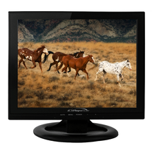 Wall mounted 13 inch 1024*768 LED / LCD pc monitor