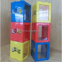 Wholesale popular stacked plastic display box