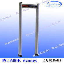 Light Weight Walk Through Metal Detector security Gate For Military PG-600E