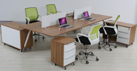 2014 High end L shape wood executive office table