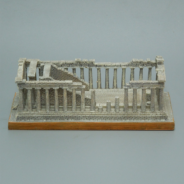 Acropolis famous building miniature resin greece Acropolis of Athens