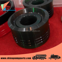 PM or Schwing rubber material concrete pump piston for concrete pump machine