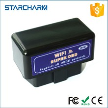 Mini WIFI obd2 ELM327 Auto diagnostic Scanner Wireless OBD2 OBDII Adapter ELM 327 Interface OBD2 / OBD II Auto Car Diagnostic