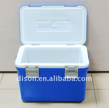 10L plastic cooler box, insulated cooler box