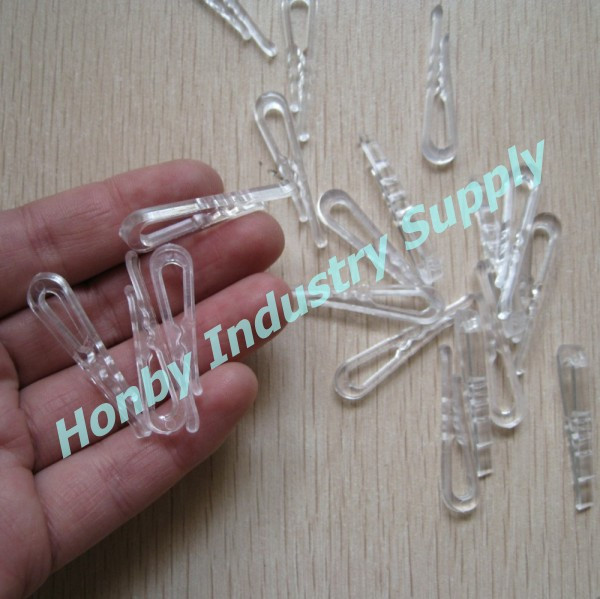 Garment Packing Accessory Crocodile Plastic Clips For Shirt