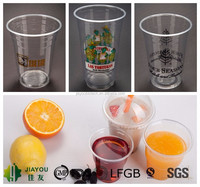 20oz Plastic Smoothie Cup with Dome Lid