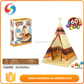 INDIAN TEEPEE PLAY HOUSE TENT 120CM