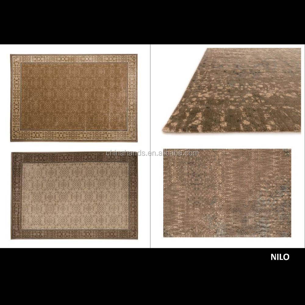 hochwertige dekorative wolle und seide teppich teppiche