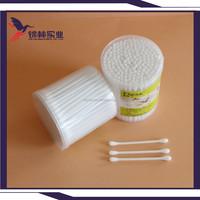 200pieces cotton earbuds with plastic box