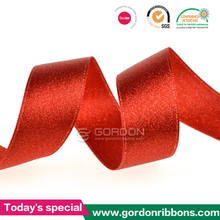 red wired ribbon/Girl dress alibaba china/wholesale satin ribbon