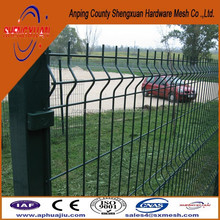 cheap pvc fence / recycled vinyl fence / welded fence panel