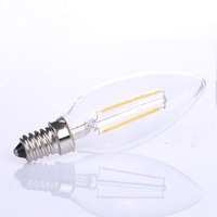 2016 Newest design 360 degree LED Filament bulb C35 2W with CE&RoHS