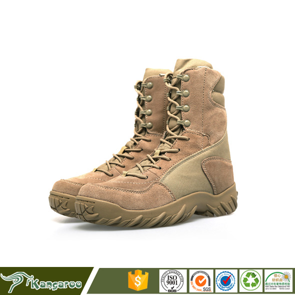 Wholesale American Steel Toe Cap Men Field Genuine Leather Boots Military KMB01X