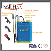 Sailflo 16L 20L rechargeable electric backpack / agricultural hand pump sprayer