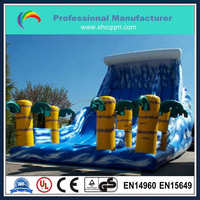 popular giant inflatable coconut palm tree slide for sale