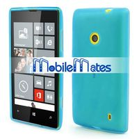Promotional Mobile Phone Cover Frosted Flexible Jelly Gel TPU Case For Nokia Lumia 520, different colors