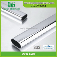 Connecting Pipe Top Quality Weld Aluminum Oval Tube Profile