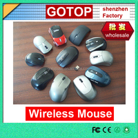 Customized logo ultra slim computer 2.4G receiver wireless mouse usb computer mouse