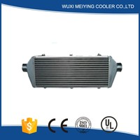 Professional factory aluminum plate and fin intercooler well used for cars cooling system trade assurance