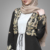 Latest Burqa Design Pictures Islamic Women  Clothing Beautiful Gold Embroidery Western Style Abaya  Elegant Dubai Abaya