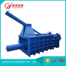 CE ISO certification metal cans baler manual/baler heavy scrap metal for sale
