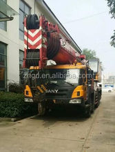 used condition excellent Sany 100t Truck Crane for sale in great numbers with High Quality and great Working Condition