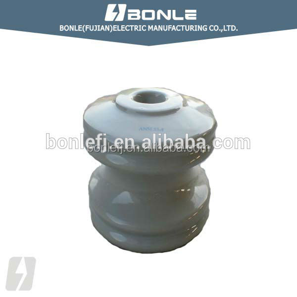 ASNI 53-1, 53-2, 53-3, 53-4, 53-5 Porcelain Spool electrical Insulator