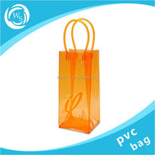 waterproof 2 pack plastic chill wine bag