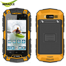 Oinom LMV7 IP67 rugged Waterproof phone MTK6572 Dual Core Android Gorilla glass 3G GPS Cell Phone