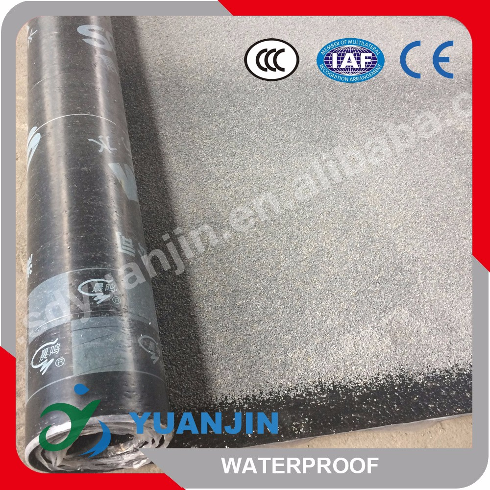 SBS adhesive bitumen waterproofing membrane light weight