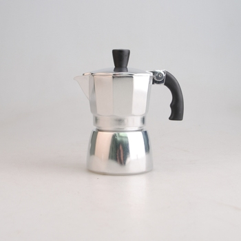 Aluminum Moka Espresso Latte Percolator Stove Top Coffee Maker Pot Fashionable Coffee Maker 1 cup
