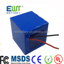 12V 18.2Ah lithium ion battery pack 3S6P 18650 2600mAh cells made 12V 15Ah battery pack.