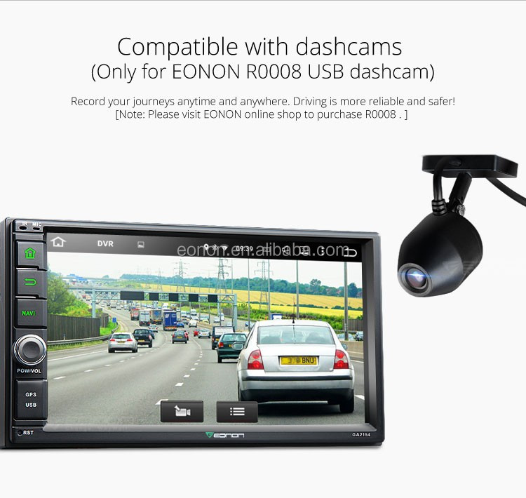 EONON GA2154 2-DIN Android 5.1.1 Lollipop 7 inch Multimedia Car Car GPS with Mutual Control EasyConnected (Without DVD Function)