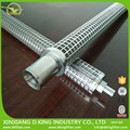 High temperature melt candle oil filter cartridge