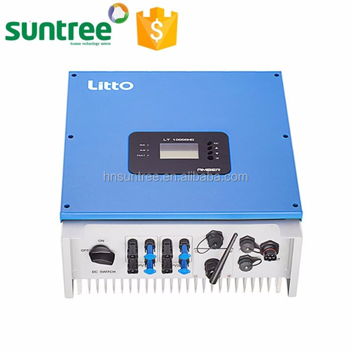 High quality newest design 10000w 48v dc 220v ac inverter
